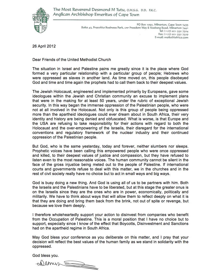 Kairos Letter